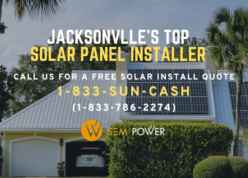 Solar Panel Installers In Jacksonville Florida